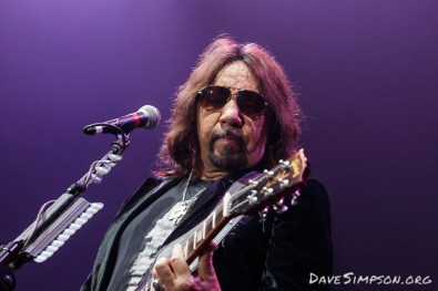 Ace Frehley opening for Alice Cooper at Auckland's Trust Arena 27 October 2017