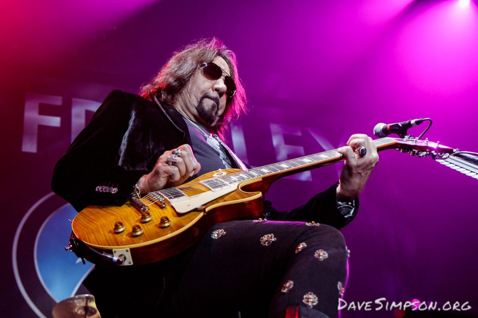 Ace Frehley live at the Trusts Arena, Auckland
