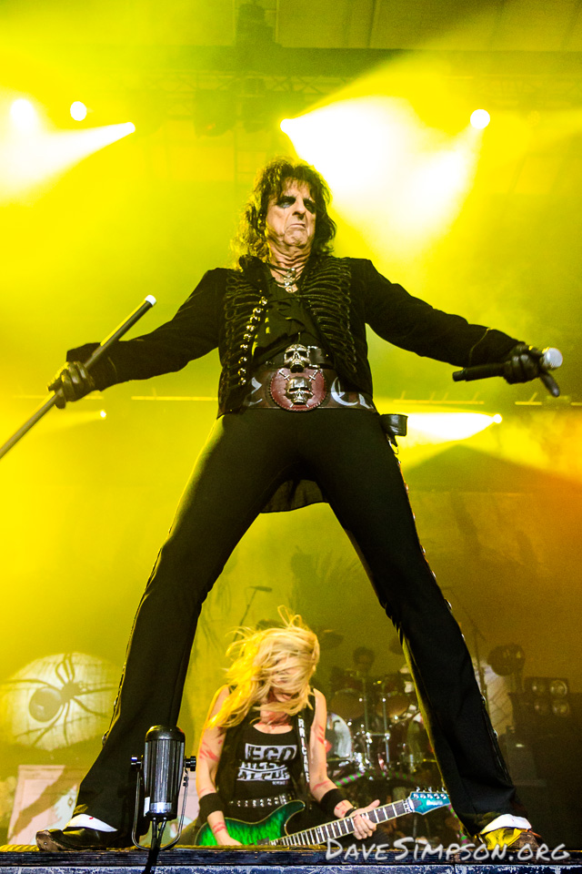 Alice Cooper 40th Anniversary Tour 2017 - Auckland 27 October 2017