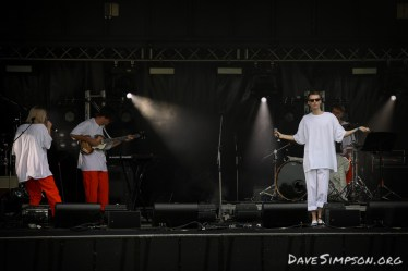 AUCKLAND, NEW ZEALAND - DECEMBER 31: BOYBOY on stage at Wondergarden 2017 New Year's Eve festival at Silo Park, Auckland on December 31, 2017 in Auckland, New Zealand. (Photo by Dave Simpson Photography Ltd)