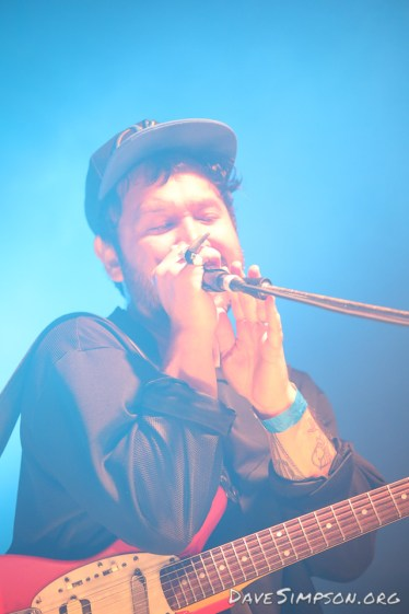 AUCKLAND, NEW ZEALAND - DECEMBER 31: Unknown Mortal Orchestra at Wondergarden 2017 New Year's Eve festival at Silo Park, Auckland on December 31, 2017 in Auckland, New Zealand. (Photo by Dave Simpson Photography Ltd)