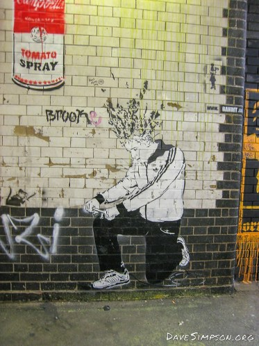 Banksy Cans Festival 2008