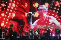 Robbie Williams live at Auckland Arena 14 Feb 2018