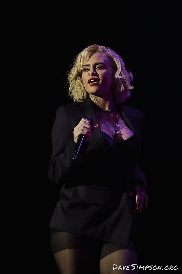 AUCKLAND, NEW ZEALAND - APRIL 19: Kehlani performs on stage opening for Halsey at Spark Arena on April 19, 2018 in Auckland, New Zealand. (Photo by Dave Simpson/WireImage)