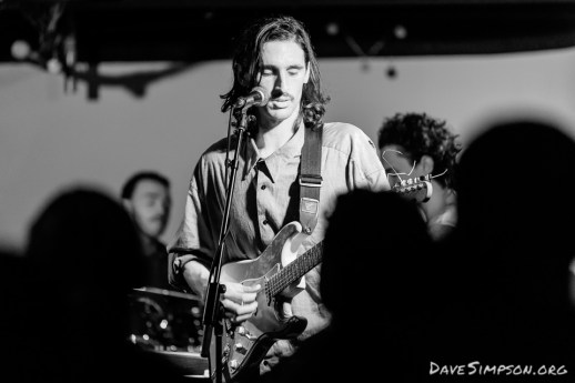 Smokestack Slim at the Makeshift Parachutes single release party 6 May 2018 at Neck Of The Woods, Auckland, New Zealand