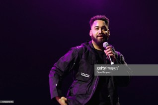 AUCKLAND, NEW ZEALAND - SEPTEMBER 28: B Wise performs during Listen In at Spark Arena on September 28, 2018 in Auckland, New Zealand. (Photo by Dave Simpson/WireImage)