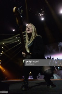 AUCKLAND, NEW ZEALAND - OCTOBER 16: Nicole Row of Panic! At The Disco performs during the Pray For The Wicked Tour at Spark Arena on October 16, 2018 in Auckland, New Zealand. (Photo by Dave Simpson/WireImage)