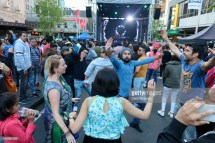 AUCKLAND, NEW ZEALAND - OCTOBER 21: People enjoy the sights, sounds and smells during the 17th Auckland Diwali Festival on October 21, 2018 in Auckland, New Zealand. Auckland Diwali Festival is one of Auckland's biggest and most colourful cultural festival, celebrating traditional and contemporary Indian culture. (Photo by Dave Simpson/WireImage)