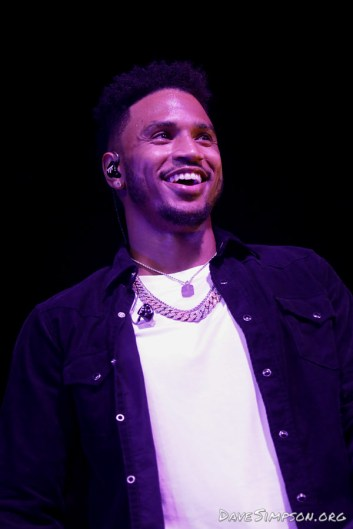 AUCKLAND, NEW ZEALAND - NOVEMBER 03: Trey Songz performs on stage at the Logan Campbell Centre on November 3, 2018 in Auckland, New Zealand. (Photo by Dave Simpson/WireImage)