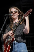AUCKLAND, NEW ZEALAND - JANUARY 12: Angie McMahon performs on stage as part of Mumford & Sons' The Gentlemen of the Road tour at The Outer Fields at Western Springs on January 12, 2019 in Auckland, New Zealand. (Photo by Dave Simpson/WireImage)