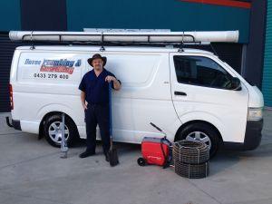 van and sewer machine