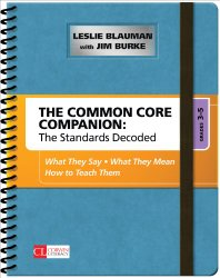 Common Core Companion, 3-5, Jim Burke