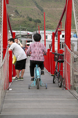 Training wheels to facilitate results; guard rails to minimize risk.