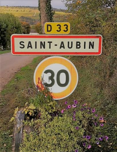 The Saint Aubin road.
