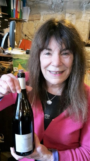 Patty Lurie at a recent Saturday tasting at