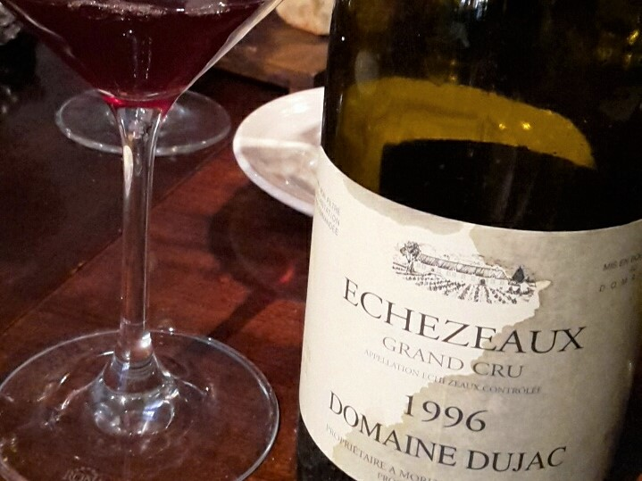 Ethereal 1996 Domaine Dujac Echezeaux Illustrates Enduring Pleasures From Whole Bunch Fermentation With Stems