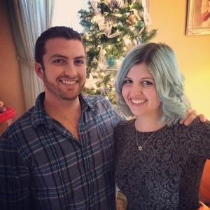 @biancaursillo and me on Christmas day