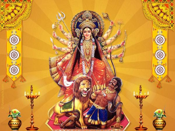 Maa-Durga-Graphic
