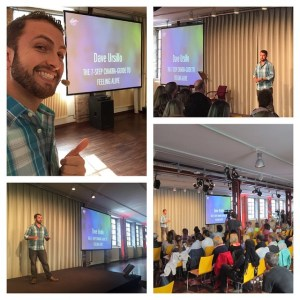 Thankful for the great response to my keynote today at #ALIVEInBerlin for 165 amazing people. We talked leading by example and did a guided chakra meditation for energy awareness!