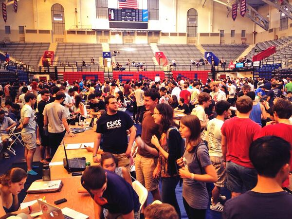 Penn Apps hackathon at the University of Pennsylvania