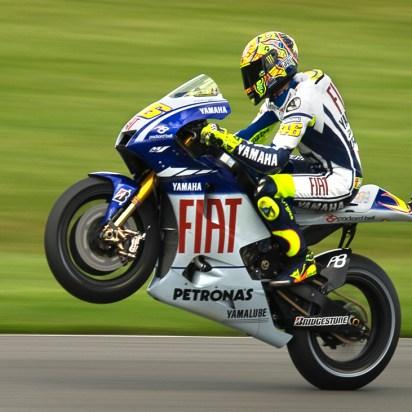 Rossi. Donnington 2009