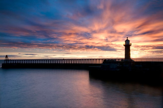 Whitby Silhouette