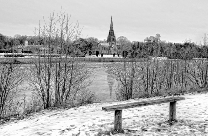 Winter in Clumber Park