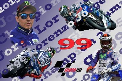 Jorge Lorenzo.Moto GP Champion 2015.Limited Edition Print 1-99