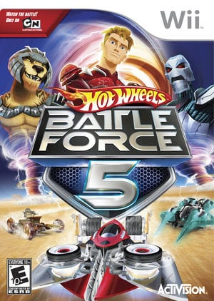 Hot Wheels - Battle Force 5 [WBFS] [RO5E52]