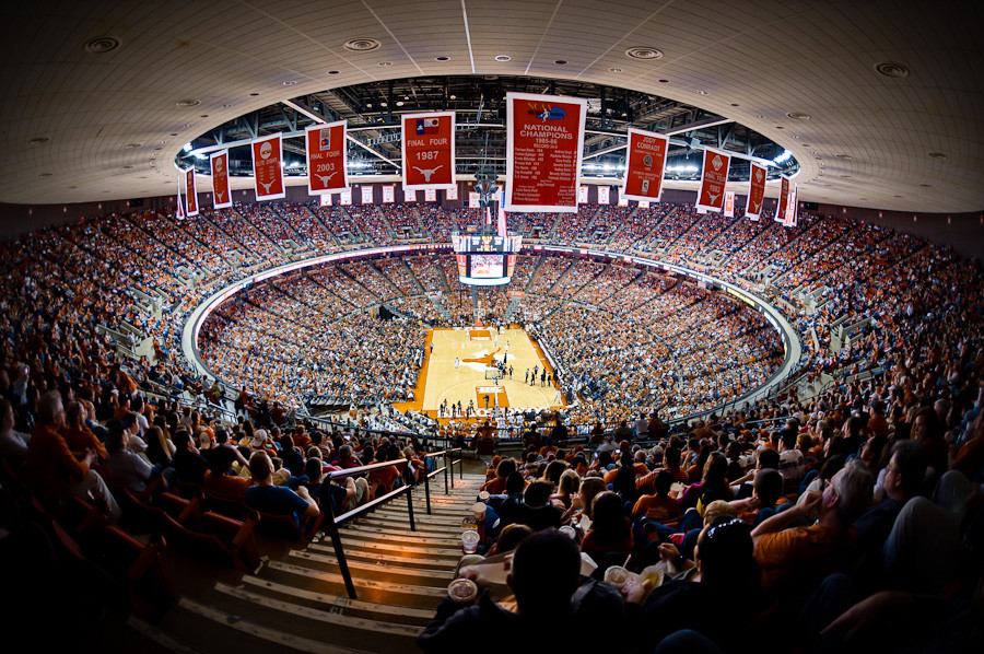Ut Basketball At The Erwin Center Dave Wilson Photography