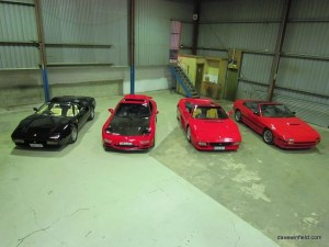 Mazdas and Ferraris
