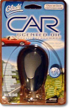 Car scented oil?