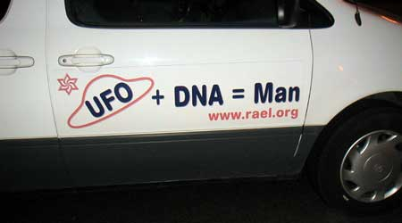 UFO+DNA=Man