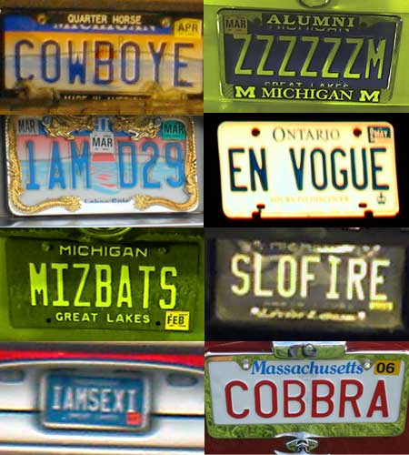 Bad plates I have known