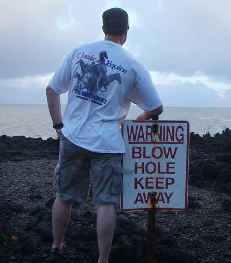 Blowhole
