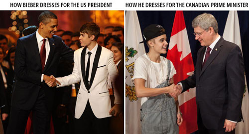 Dress codes are different in Canada