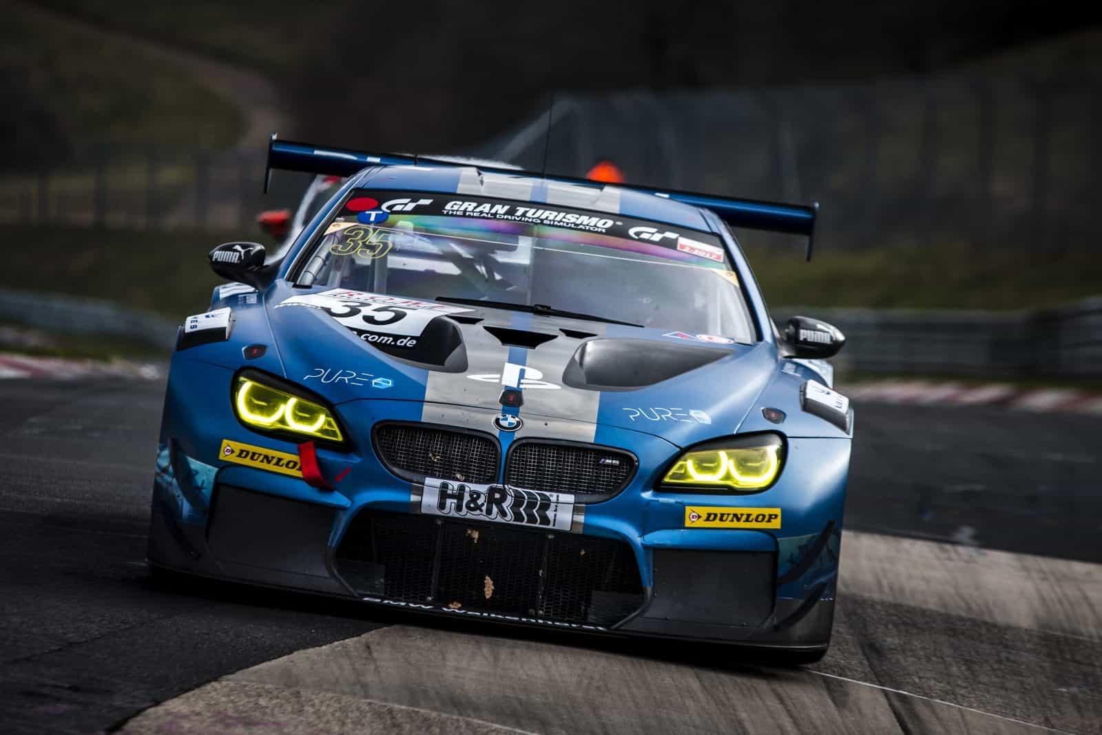 Rennfahrer David Schiwietz - PlayStation BMW M6 GT3 2018 24h Rennen PURE Energy Drink