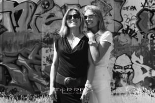 Fotoshoot Anna & Sabrina