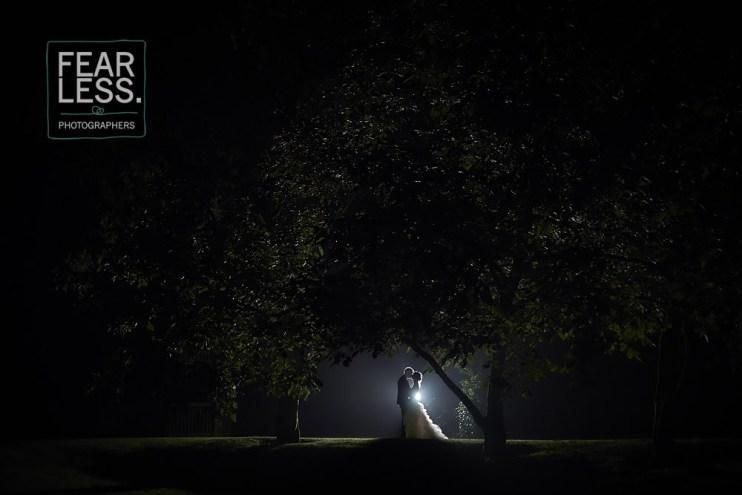 Trouwkoppel nacht huwelijksfotograaf David Torres