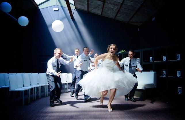 Bruid op de vlucht