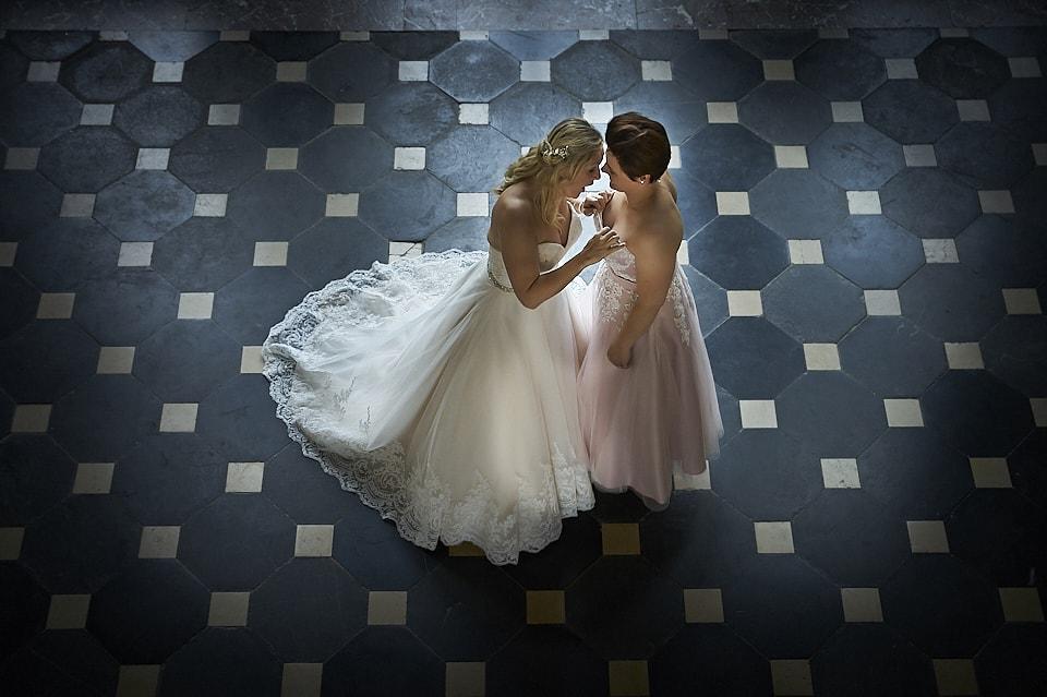 lesbische huwelijksfotograaf