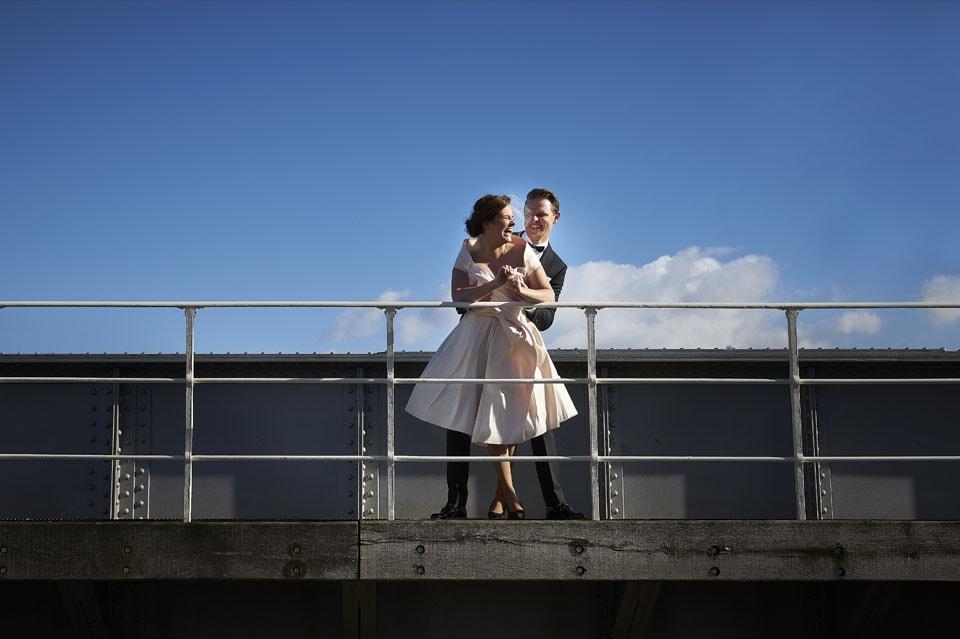 Spontane bruidsfotograaf
