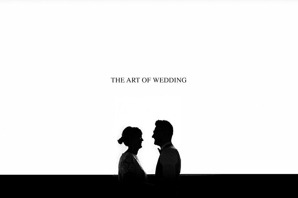 Moderne huwelijks fotograaf