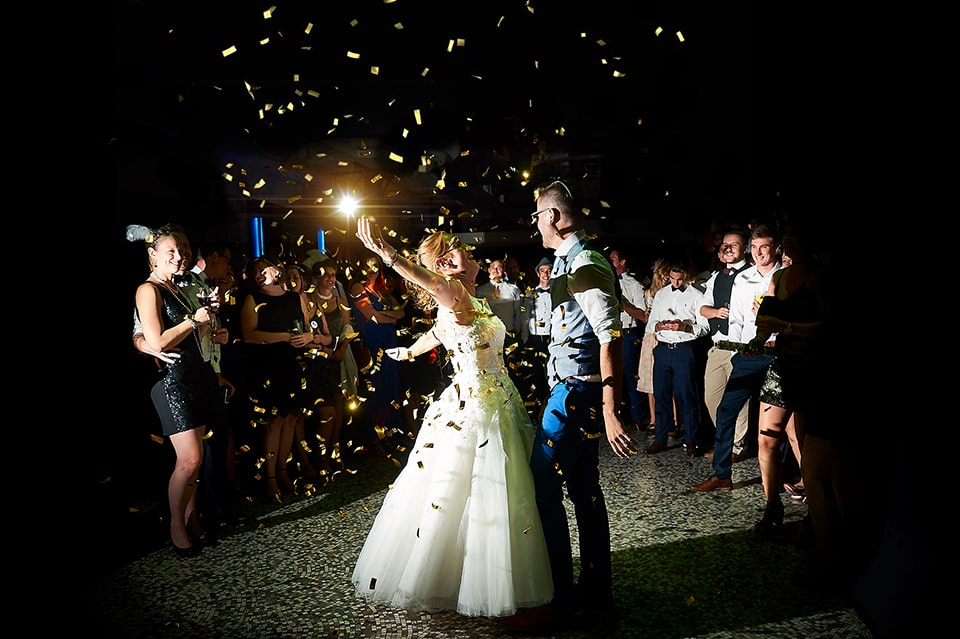 Moderne huwelijksfotograaf