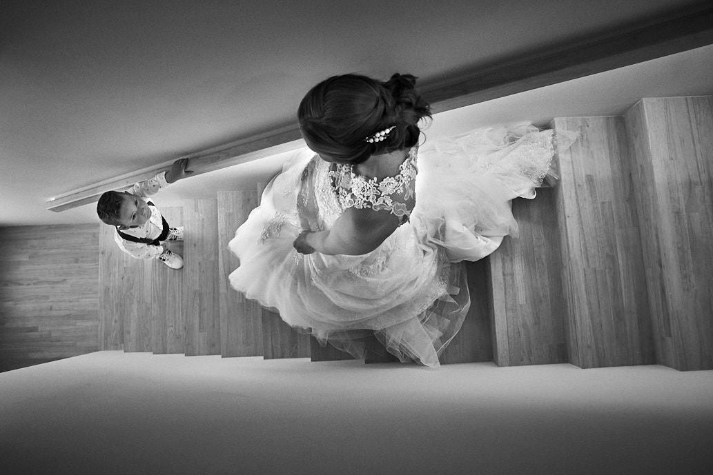 zwart wit huwelijksreportage