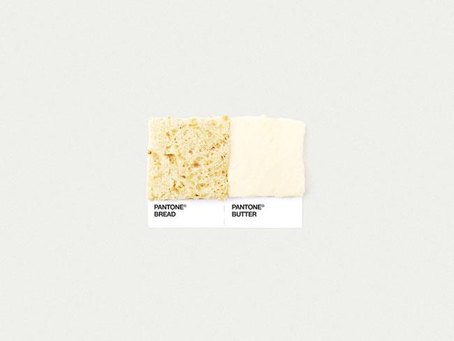 Pantone bread butter