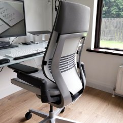 Steelcase Gesture Chair Review Small Table With Chairs Desk Space David Airey Graphic Designer
