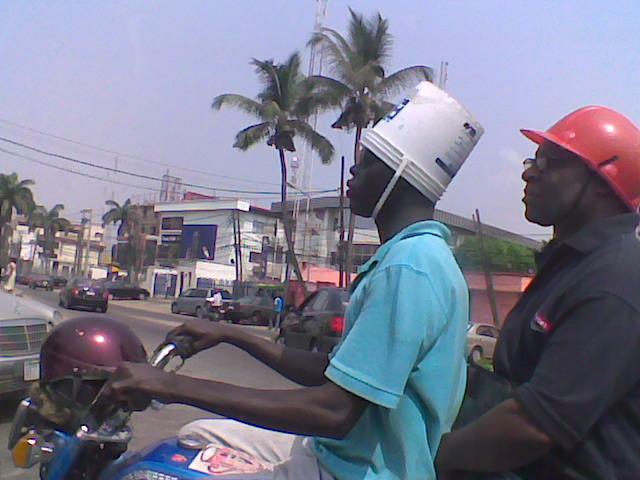 Nigerian ingenuity, or bold fashion statement?