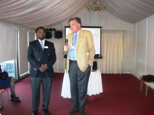 MOTEC reception at which the NUWLIFE project was unveilled
