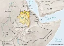 In a letter the  UK Africa Minister, James Duddridge MP sets out the British Government's concerns about the conflict in Tigray